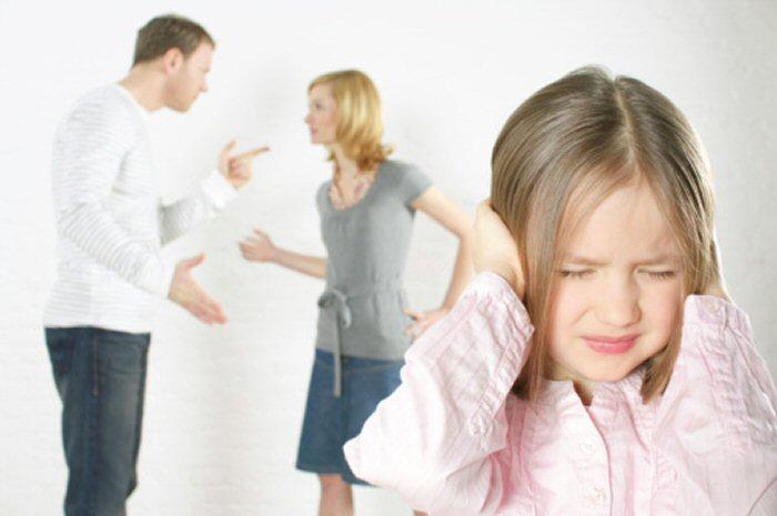 Divorce enfant